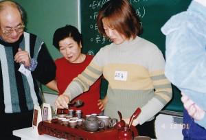 2001-12-04 例会 中国茶紹介